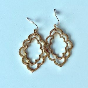 Gold Moroccan-Inspired Earrings